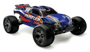 TRAXXAS Rustler VXL Brushless 2WD 1:10 RTR + NEW Fast Charger
