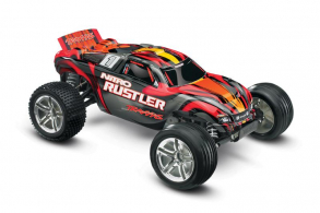 TRAXXAS Nitro Rustler 2WD 1:10 RTR + NEW Fast Charger