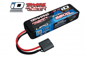 TRAXXAS Battery 5800mAh 7.4v 2-Cell 25C LiPO Battery (iD Plug)