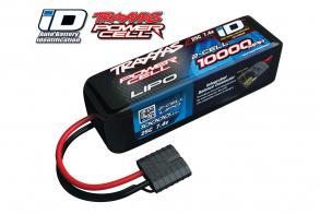 TRAXXAS Battery 10000mAh 7.4v 2-Cell 25C LiPO Battery (iD Plug)
