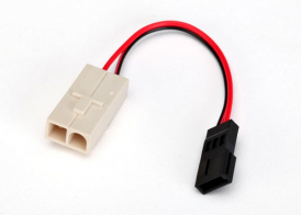 TRAXXAS запчасти Adapter, Molex to Traxxas receiver battery pack (for charging) (1)