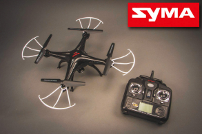 SYMA X5SC 4CH quadcopter with 6AXIS GYRO (с камерой)
