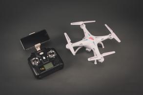 SYMA X5SW 4CH quadcopter with 6AXIS GYRO (с FPV камерой)