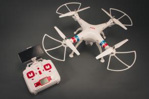 SYMA X8W 4CH quadcopter with 6AXIS GYRO (с FPV камерой)