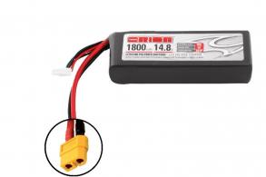Team Orion Batteries  Li-Po 14,8В(4S) 1800mah 50C SoftCase XT60 plug with LED charge status