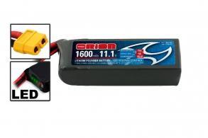 Team Orion Batteries Li-Po 11,1В(3S) 1600mah 75C SoftCase XT60 Racing Drone Battery