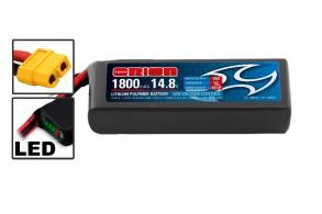 Team Orion Batteries  Li-Po 14,8В(4S) 1800mah 75C SoftCase XT60 Racing Drone Battery