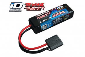 TRAXXAS Battery 2200mah 7.4v 2-Cell 25C LiPO Battery (iD Plug)