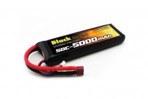 Black Magic LiPo 7,4V(2S) 5000mAh 50C Deans plug