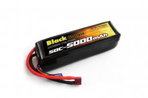 Black Magic LiPo 22,2V(6S) 5000mAh 50C Deans plug