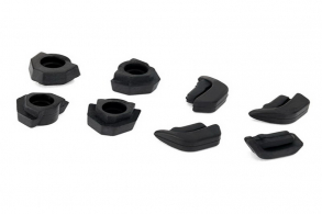 TRAXXAS запчасти Feet, non-skid, LED lens (4): landing gear (4)