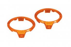 TRAXXAS запчасти LED lens, motor, orange (left & right)