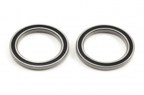 TRAXXAS запчасти Ball bearing, black rubber sealed (20x27x4mm) (2)