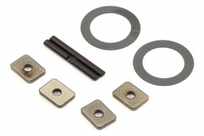 TRAXXAS запчасти Spider gear shaft (2): spacers (4): 16x23.5x.5mm TW (2)