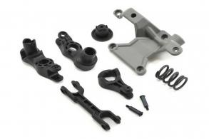TRAXXAS запчасти Steering bellcranks: bellcrank support:servo saver: servo saver spring: draglink: 3x20mm shoulder sc