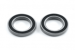 TRAXXAS запчасти Ball bearing, black rubber sealed (15x24x5mm) (2)