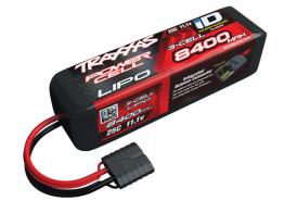 TRAXXAS Battery 8400mAh 11.1v 3-Cell 25C LiPo Battery (iD Plug)