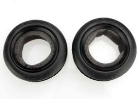 TRAXXAS запчасти Tires, Alias ribbed 2.2' (wide, front) (2): foam inserts (Bandit) (soft compound)