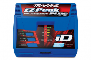 TRAXXAS Charger EZ-Peak Plus 4-amp NiMH:LiPo Fast Charger with iD™ Auto Battery Identification