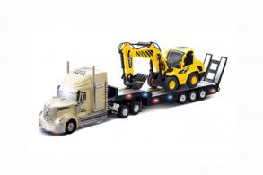 RUI CHUANG Радиоуправляемый грузовик (золотой) и экскаватор (жёлтый)