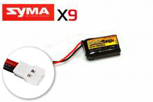 Black Magic  LiPo 3,7В(1S) 500mAh 20C Soft Case Molex plug (for Syma X9)