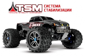 TRAXXAS E-Maxx Brushless 1:10 4WD TQi Ready to Bluetooth Module TSM (w:o Battery and Charger)