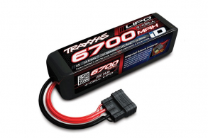 TRAXXAS Battery 6700mAh 14.8v 4-Cell 25C LiPO Battery (iD Plug)