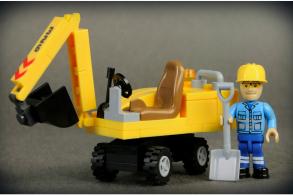 COBI Mini Excavator