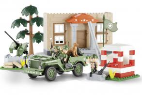 COBI Jeep Willys MB Barracks