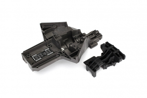 TRAXXAS запчасти Bulkhead rear (upper & lower), center differential