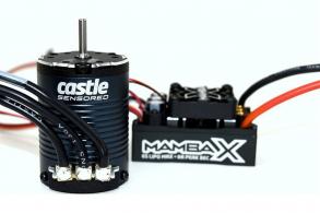 Castle Creations  Mamba X 1:10 ESC:Motor Combo 3800kV