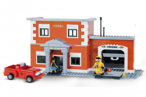 COBI Engine 13 Fire Station