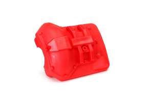 TRAXXAS запчасти Differential cover, front or rear (red)