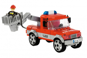 COBI Articulated Boom Fire Truck
