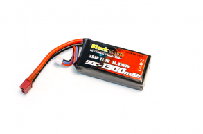 Black Magic LiPo 11,1V (3S) 1300mAh 90C
