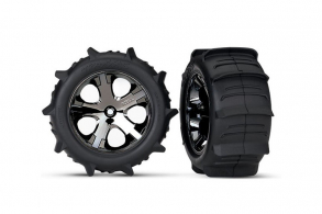 TRAXXAS запчасти Paddle Tires 2.8""