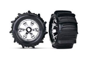 """TRAXXAS запчасти Paddle Tires 3.8"""""""