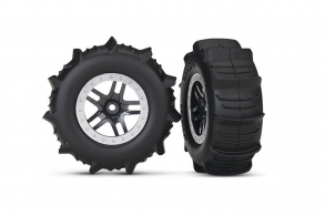 TRAXXAS запчасти Paddle Tires Slash