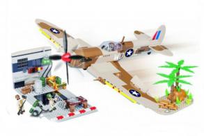 COBI Supermarine Spitfire Desert Airstrip
