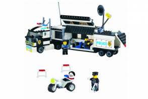 Brick Police Trailer