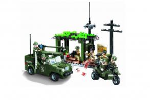 Brick Military chase