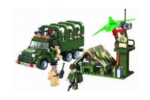 Brick Military truck