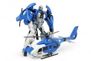 HC-Toys Трансформер Робот-полицейский вертолет