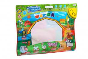 Zhorya Обучающая игрушка Музыкальный коврик Ферма