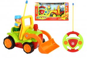HC-Toys Машинка на радиоуправлении Погрузчик + строитель