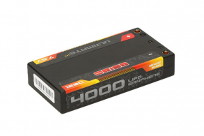 Team Orion Batteries Ultimate Graphene HV Lipo 7.6 V (2s) 4000mAh 120C Hard Case Tubes