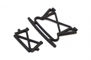 TRAXXAS запчасти BUMPER, FRONT: BUMPER SUPPORT