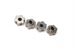 TRAXXAS запчасти WHEEL HUBS, HEX, STEEL (4)