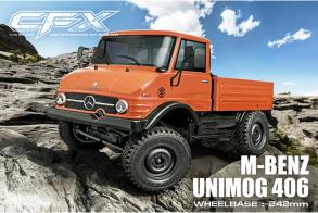 MST CFX KIT 1:10 Mercedes-Benz Unimog 406 4WD