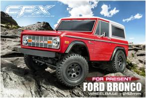 MST CFX KIT 1:10 Ford Bronco 4WD